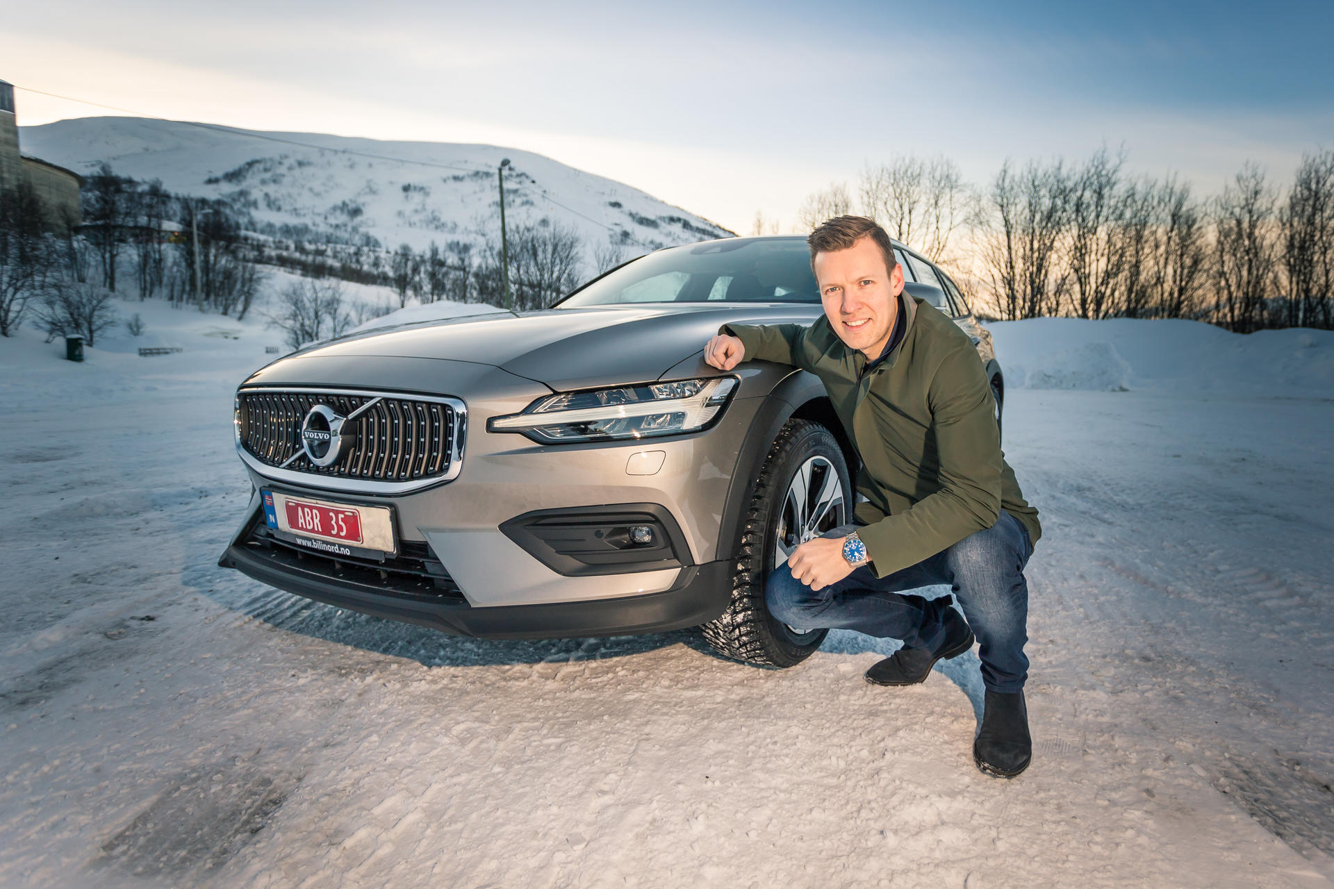 bil bil i nord Volvo V60 Cross Country