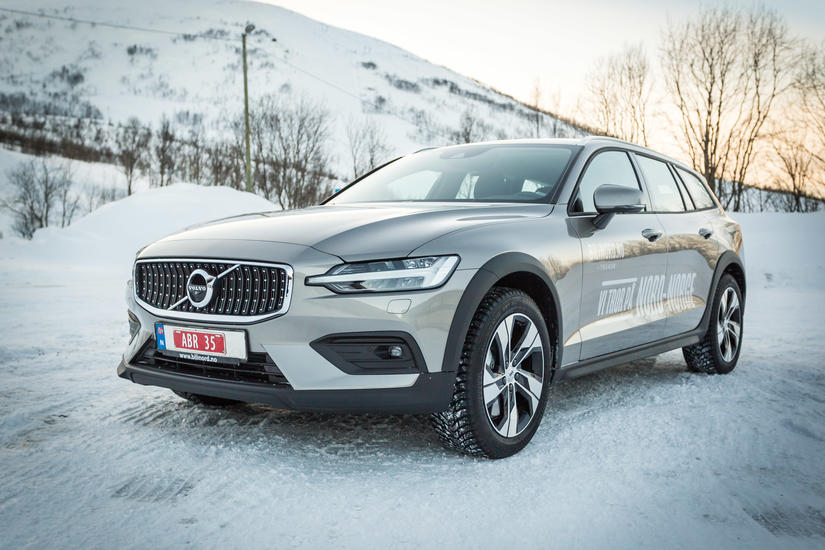 bil bil i nord volvo V60 Cross Country kampanje