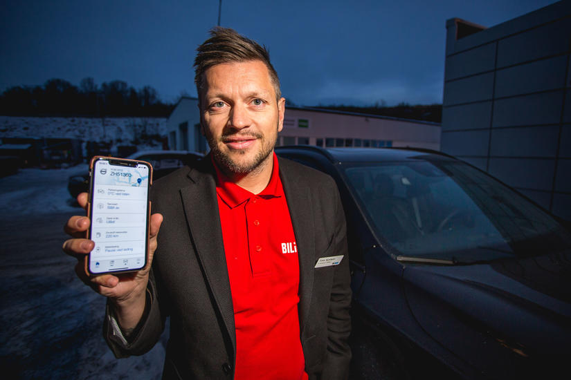 Bil Bil i Nord Volvo Volvo On Call App Varme Vinter